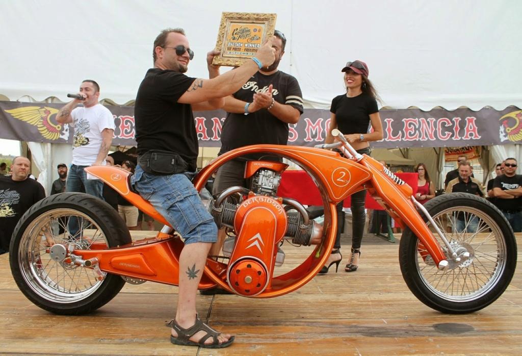Derbidson - Custom bike avec moteur 2CV citroën 90801010