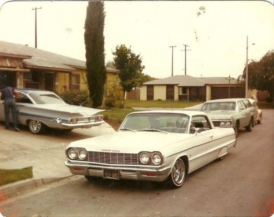 custom cars in the street - in situation ( vintage pics 1950's & 1960's)  - Page 6 91139510