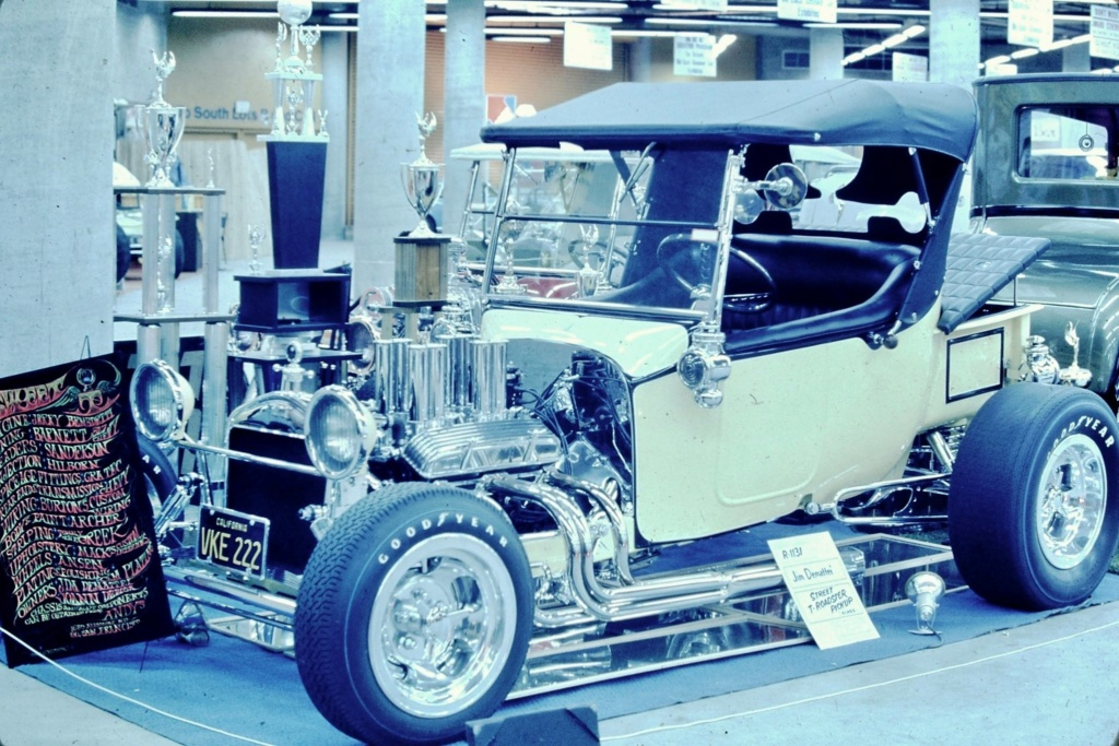 Oakland Roadster Show 1969 - Ron Brooks Pics 91276010