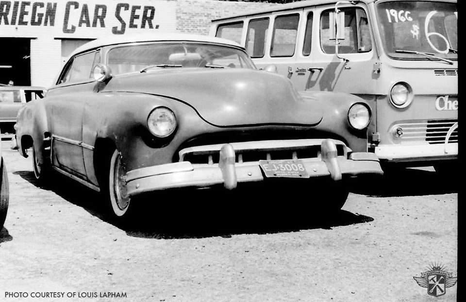custom cars in the street - in situation ( vintage pics 1950's & 1960's)  - Page 6 91342210
