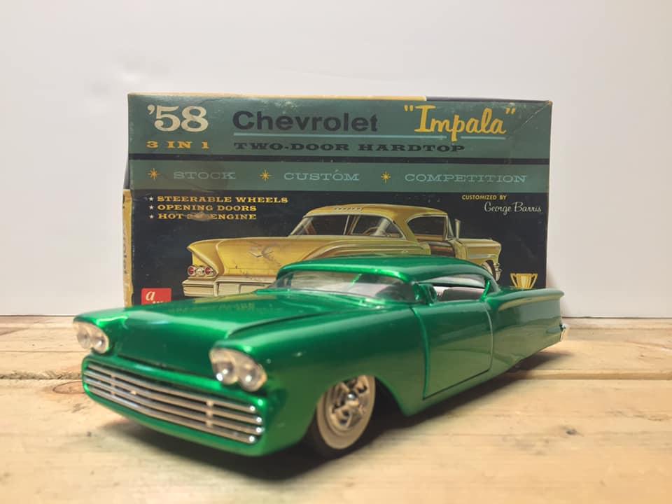 1958 Chevrolet Impala - Customizing kit - Trophie series - Amt - 1/25 scale 91594010