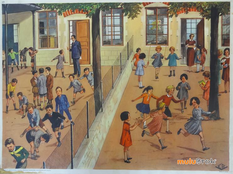 Affiches (tableaux)  pédagogiques Editions Rossignol 1946 - 1970s 91636210