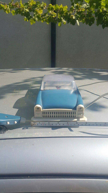 Vintage Cadillac VOLGA GAZ ZIM ZIL Jouet en plastique voiture années 1970 Remote contôlées URSS 922