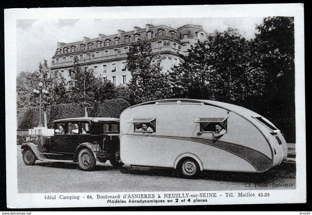 Vintage pics - Caravaning et retro camping - Vintage trailer & van 92241510
