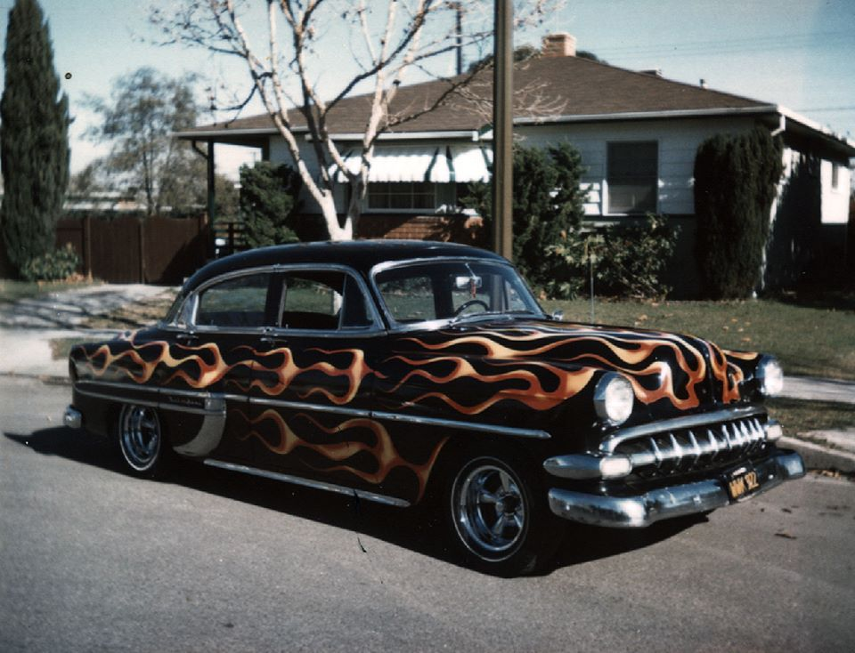 custom cars in the street - in situation ( vintage pics 1950's & 1960's)  - Page 6 92946510