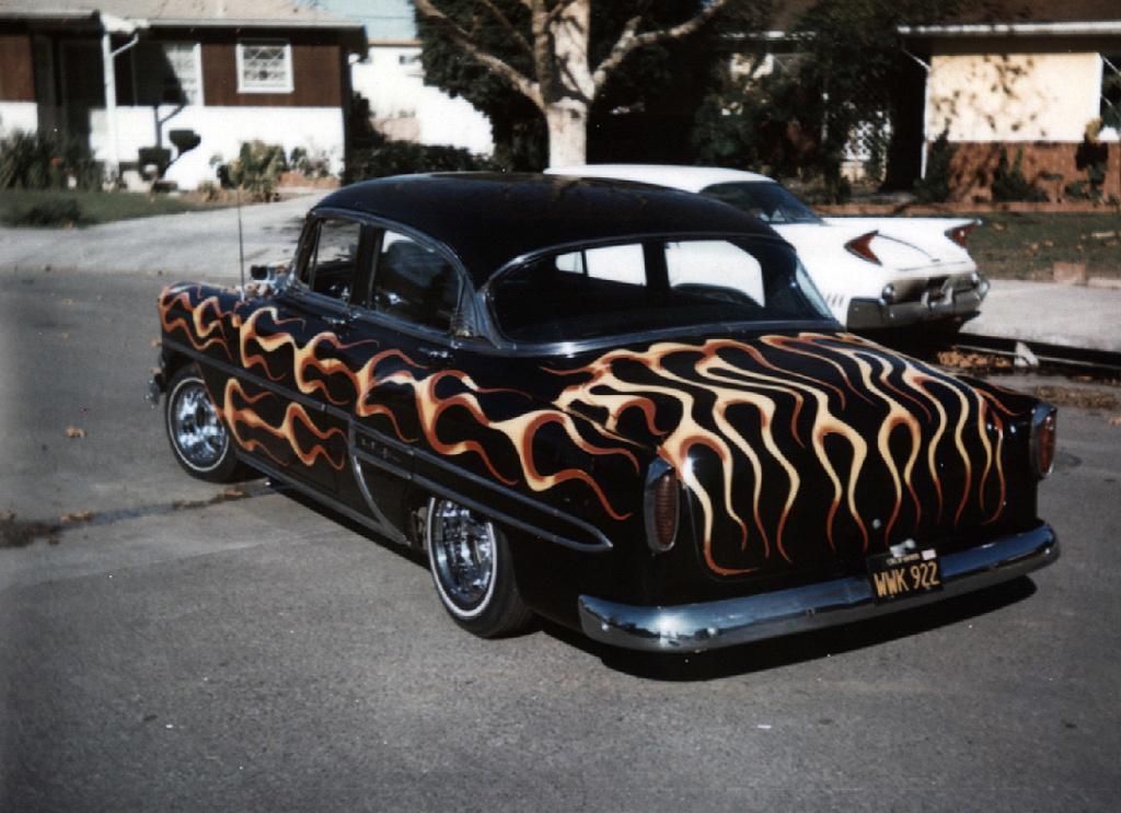 custom cars in the street - in situation ( vintage pics 1950's & 1960's)  - Page 6 92965810