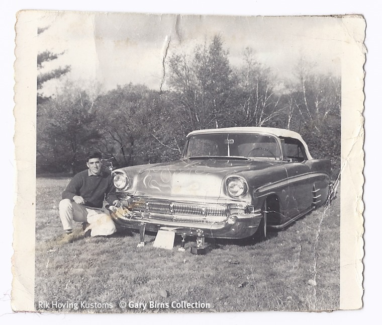 custom cars in the street - in situation ( vintage pics 1950's & 1960's)  - Page 6 93566210