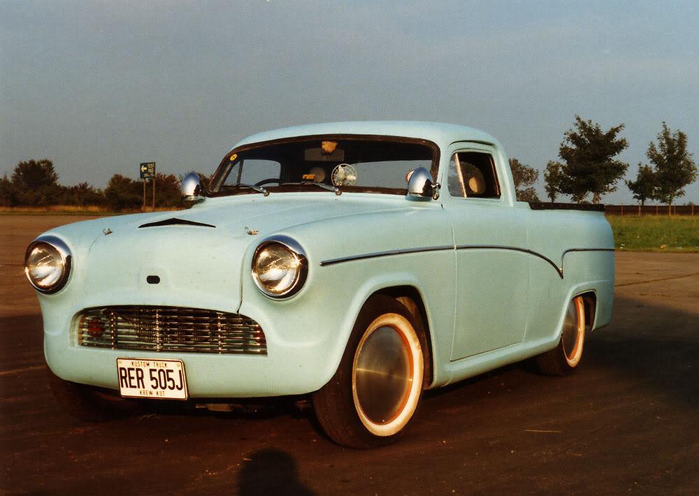 British classic car custom & mild custom - UK - GB - England 94355410