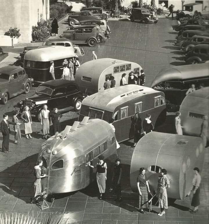 Vintage pics - Caravaning et retro camping - Vintage trailer & van 94621810