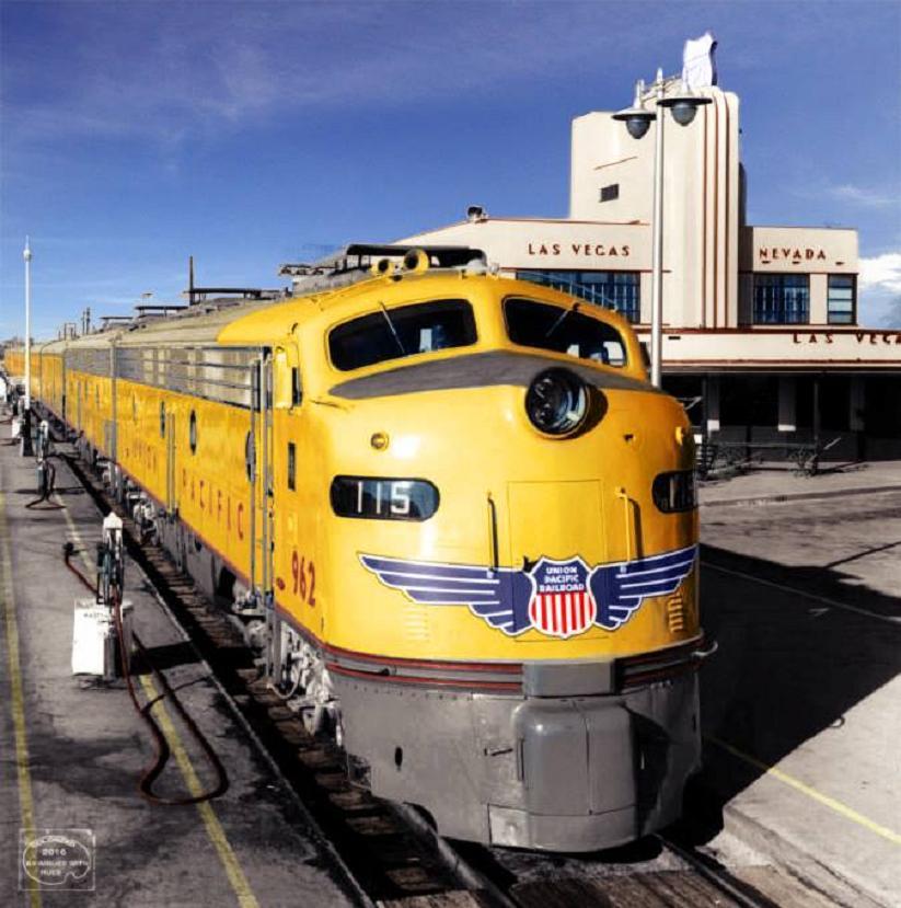 Locomotives et trains vintages - Page 3 94883710