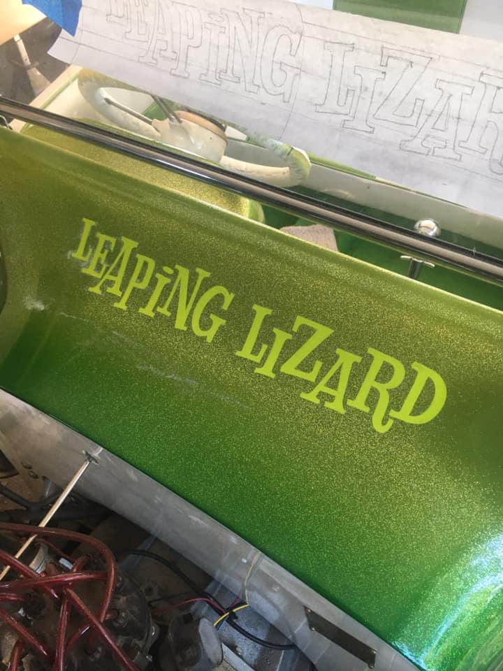 Leaping Lizard - T Bucket sixties style Hot rod - Nadeem Khan 95014910