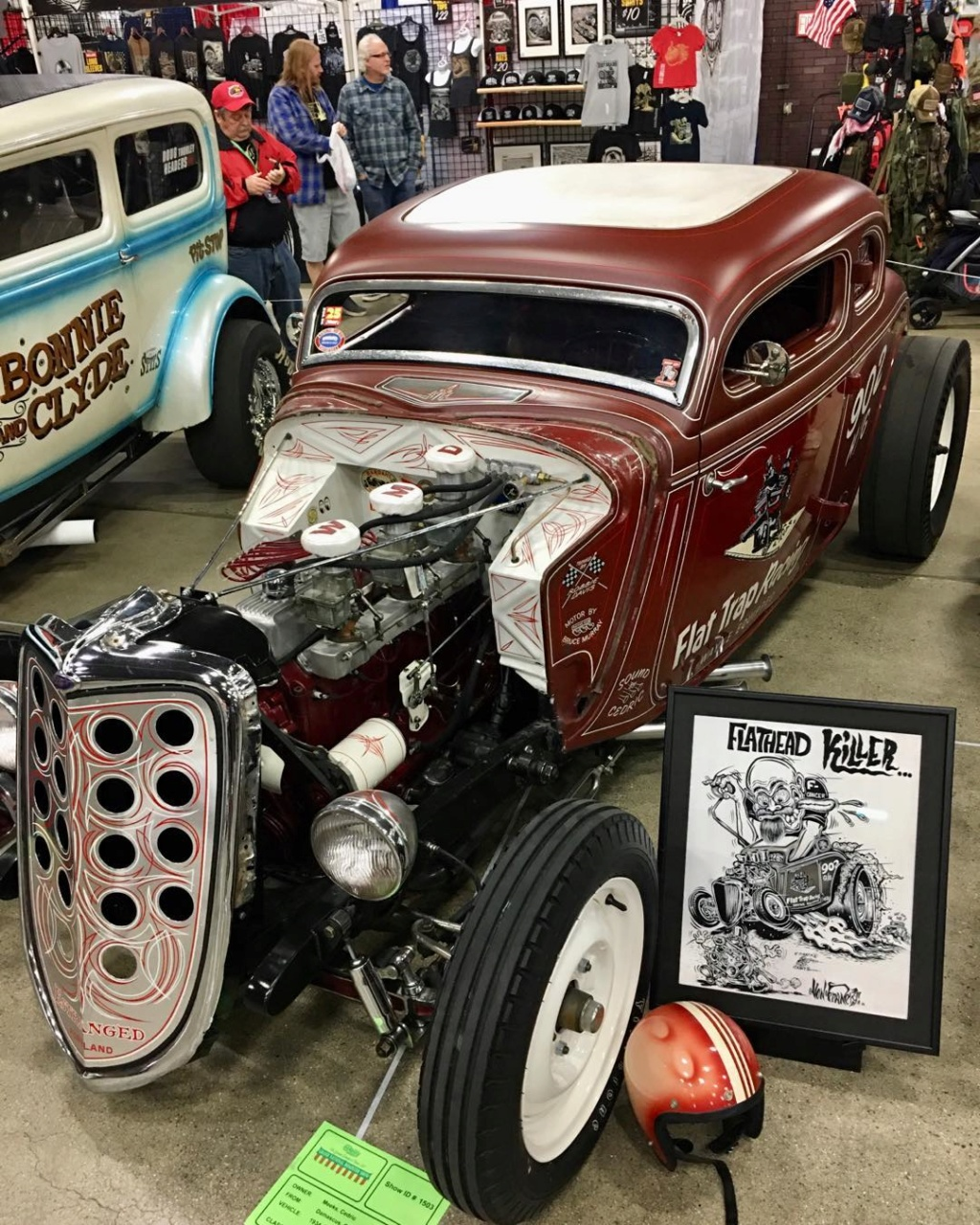 1934 Ford 5 windows Dragster - Dirty 4 - Flat Trap Racing 95251711