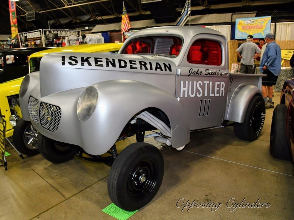 Willys pickup 1940- Gasser dragster - Hulster 3 95566210