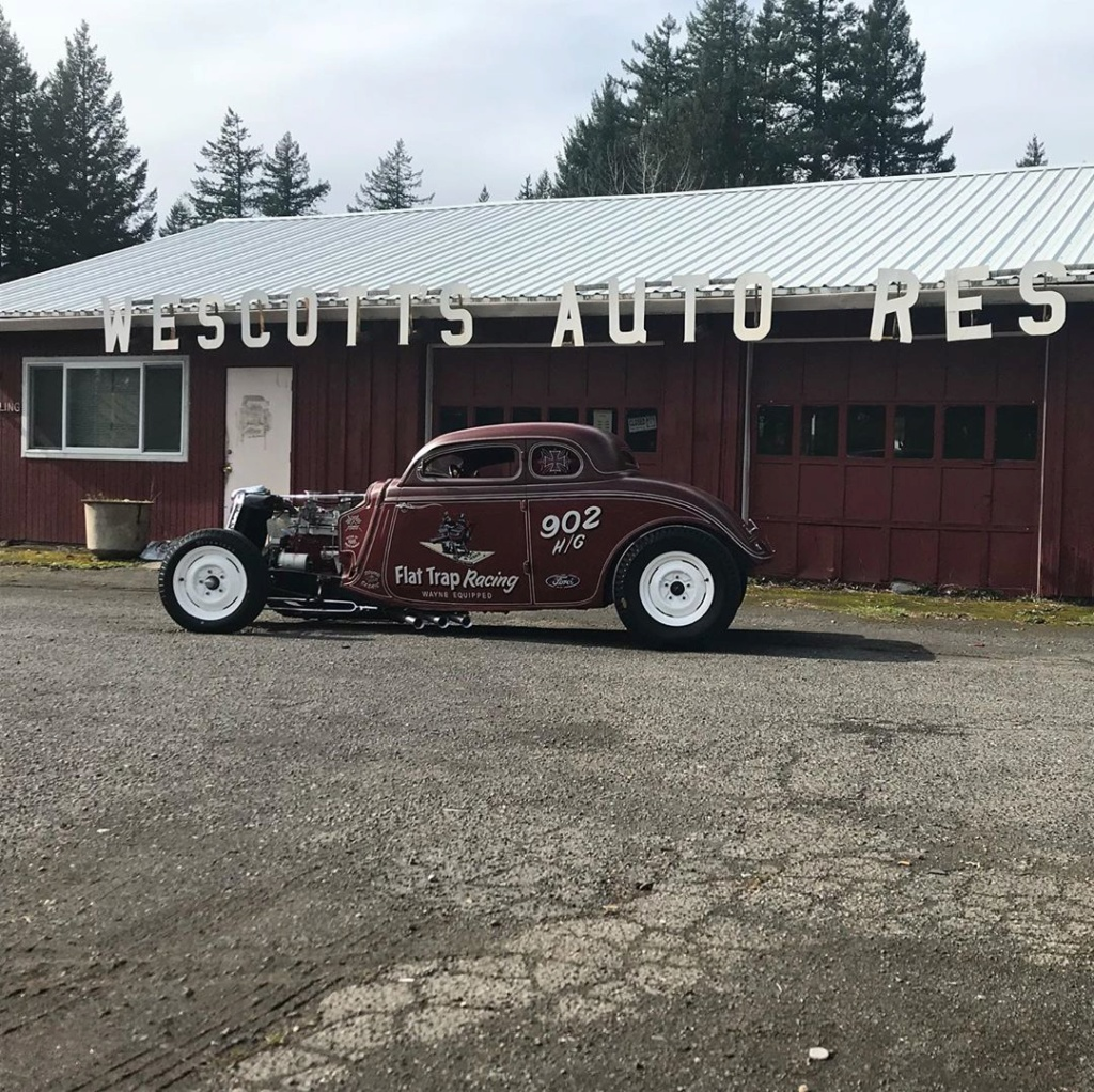 1934 Ford 5 windows Dragster - Dirty 4 - Flat Trap Racing 95782510