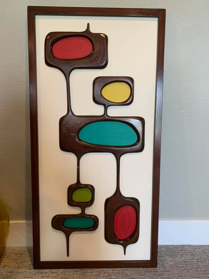 Déco murale 1950's & 1960's - Mid century modern Wall's decoration 97110310