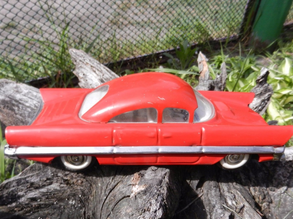 Old Soviet Rusian Vtg USSR TOY - gm motorama concept car style 9g10
