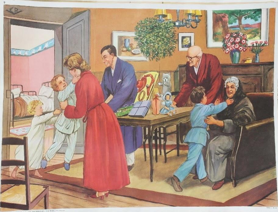 Affiches (tableaux)  pédagogiques Editions Rossignol 1946 - 1970s Affich12