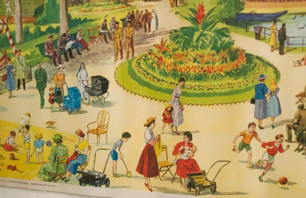 Affiches (tableaux)  pédagogiques Editions Rossignol 1946 - 1970s Affich14