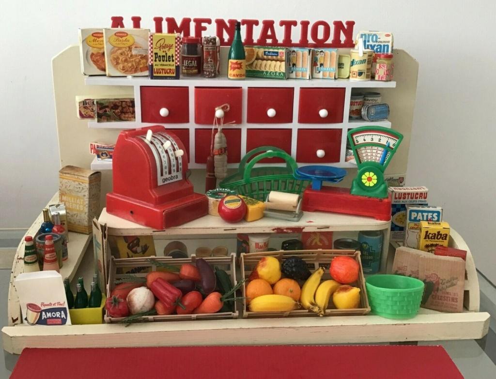 Epicerie jouet années 50 - Grocery toys vintage Alim10