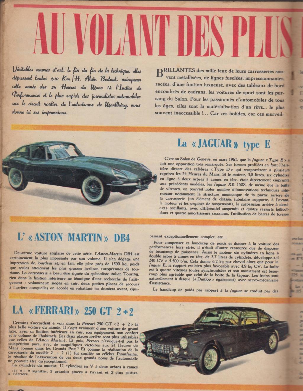 Le Journal de Tintin - de 1959 à 1964 les articles sur l'automobile et la moto Articl10
