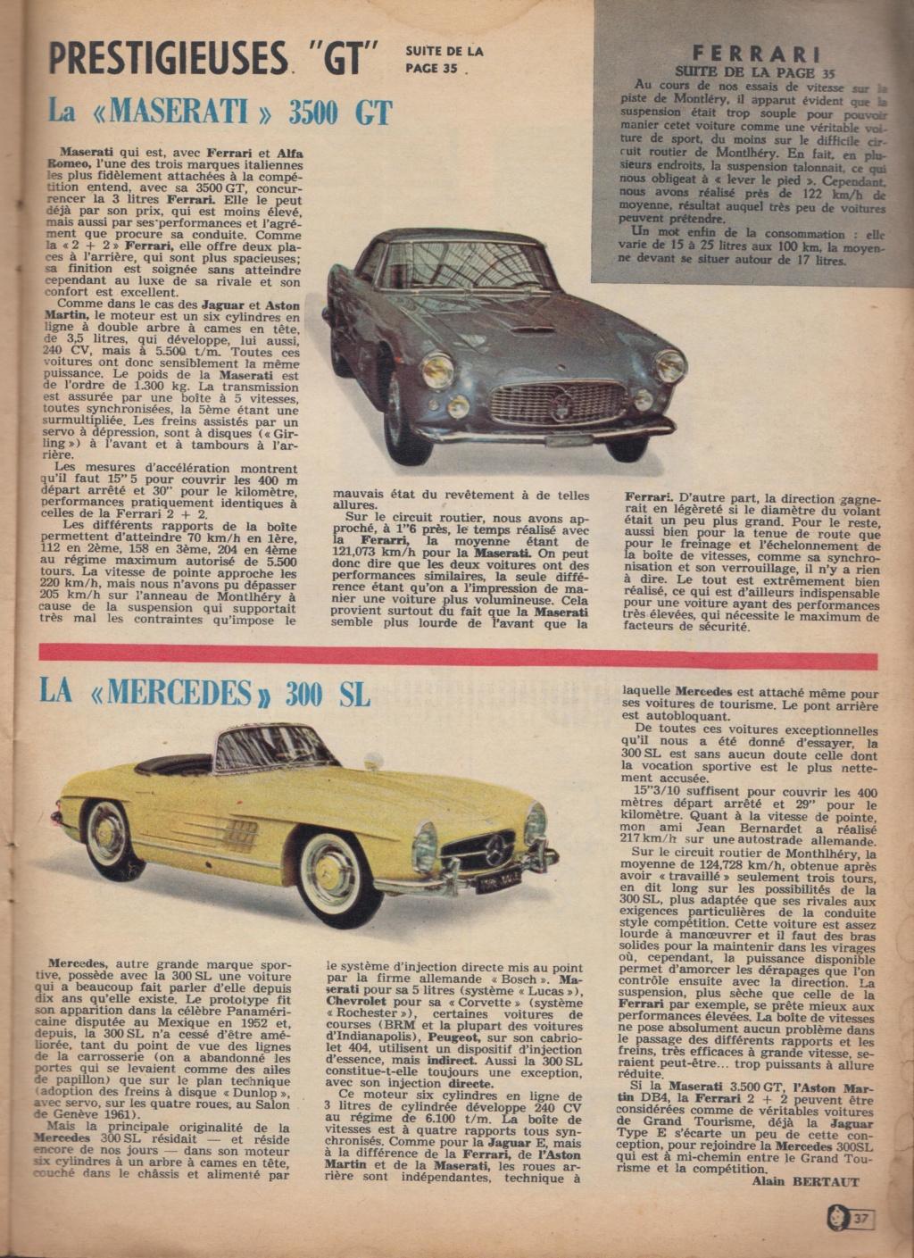 Le Journal de Tintin - de 1959 à 1964 les articles sur l'automobile et la moto Articl12