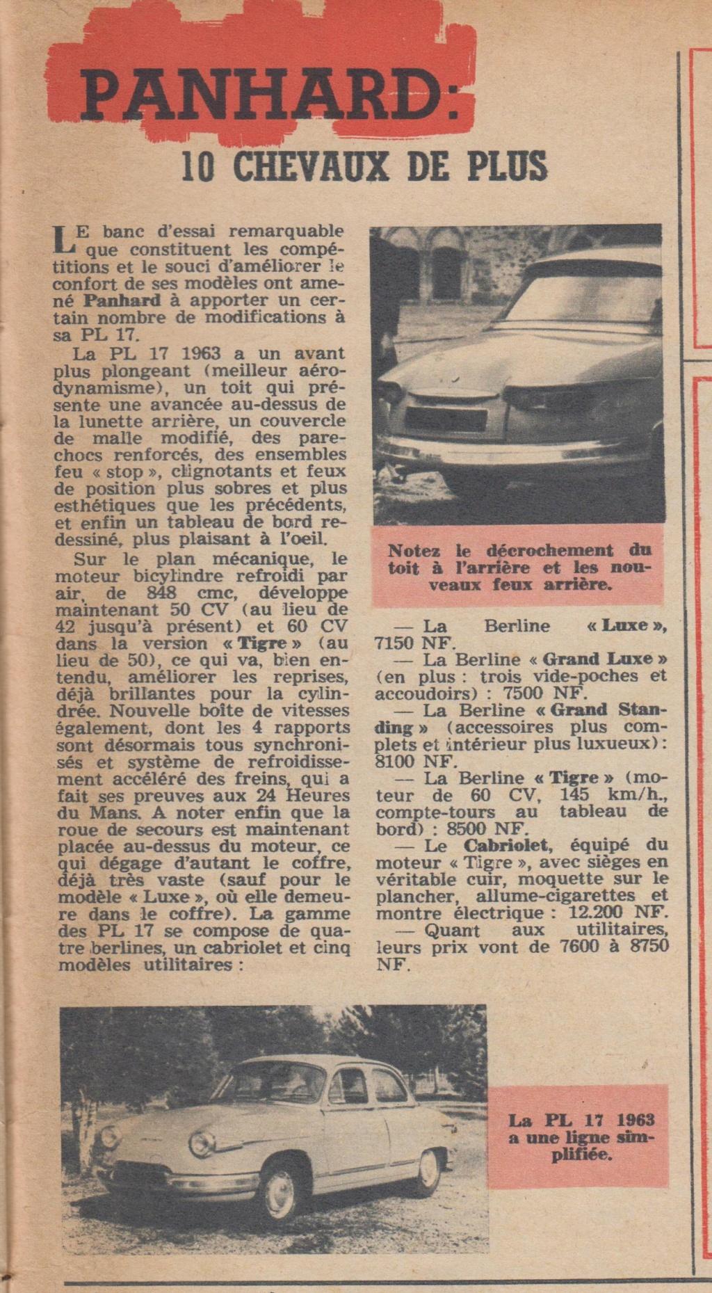 Le Journal de Tintin - de 1959 à 1964 les articles sur l'automobile et la moto Articl14