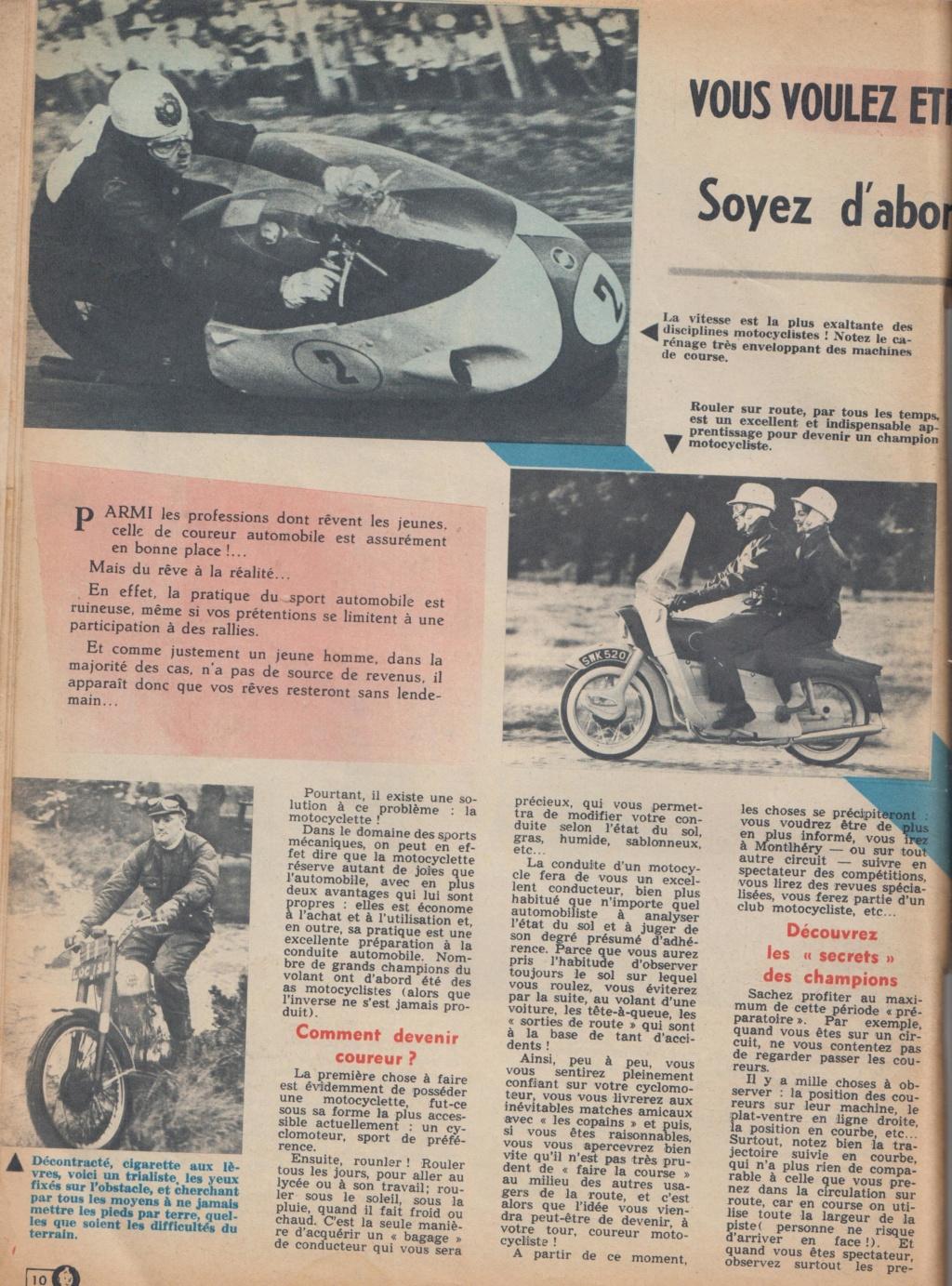 Le Journal de Tintin - de 1959 à 1964 les articles sur l'automobile et la moto Articl16