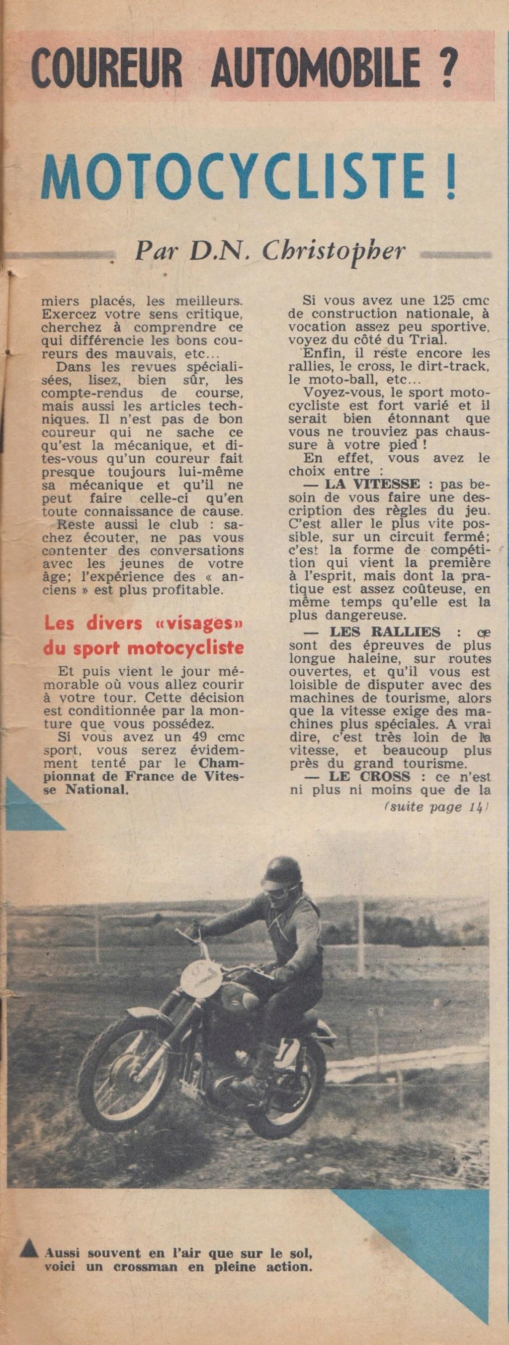 Le Journal de Tintin - de 1959 à 1964 les articles sur l'automobile et la moto Articl17