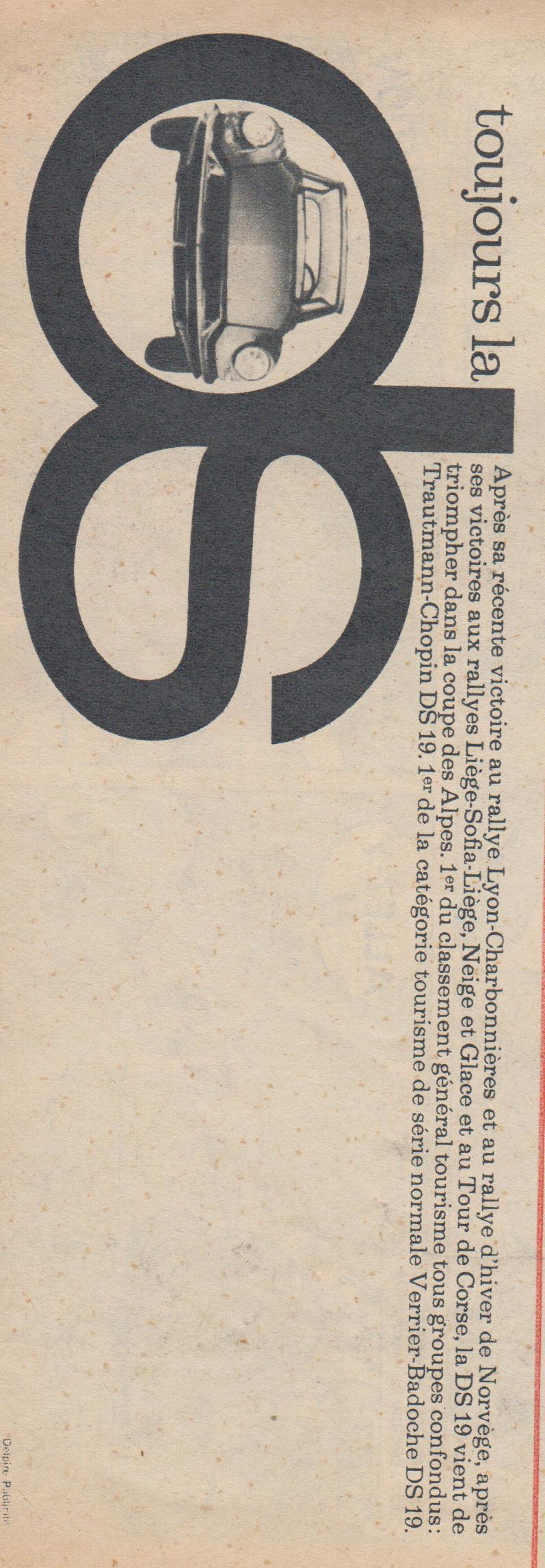 Le Journal de Tintin - de 1959 à 1964 les articles sur l'automobile et la moto Articl19