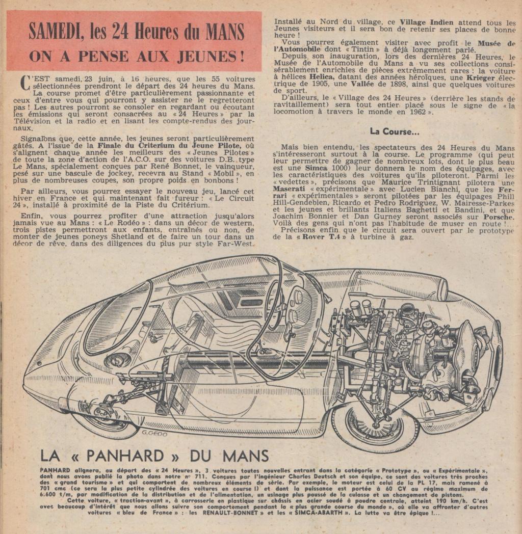 Le Journal de Tintin - de 1959 à 1964 les articles sur l'automobile et la moto Articl20