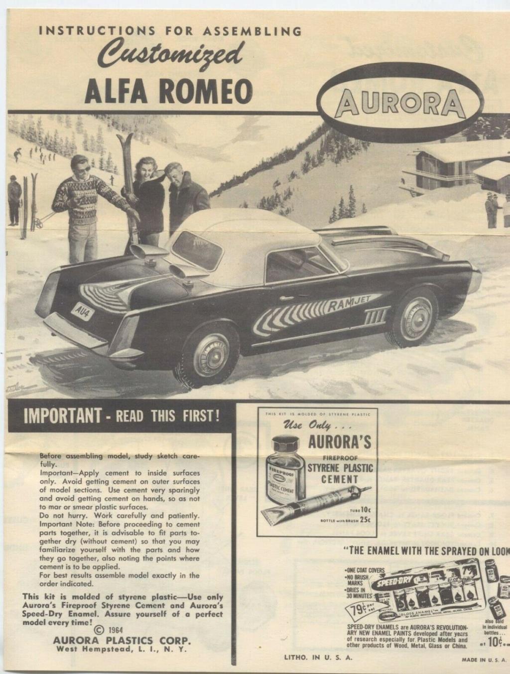 Customized Alfa Romeo - Aurora - 1/32 scale Aurora16