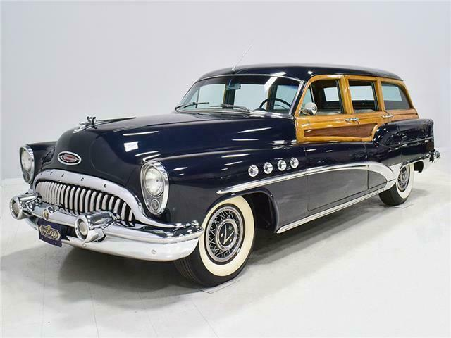 1953 Buick Roadmaster Station wagon woody B53sw10