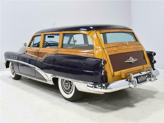 1953 Buick Roadmaster Station wagon woody B53sw210