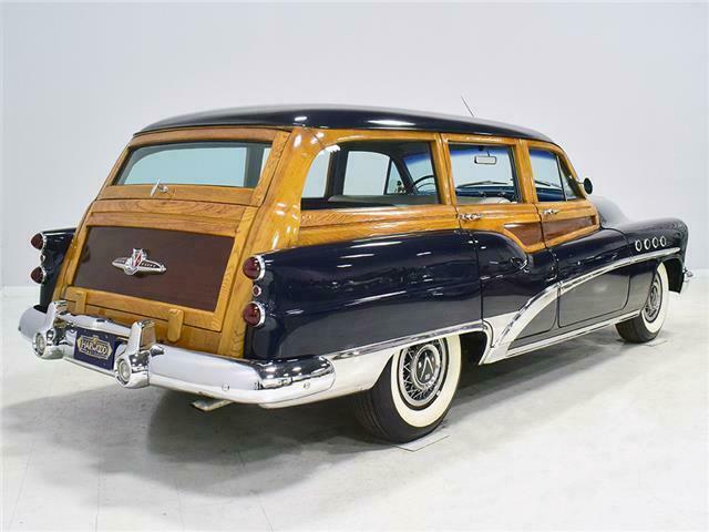 1953 Buick Roadmaster Station wagon woody B53sw310