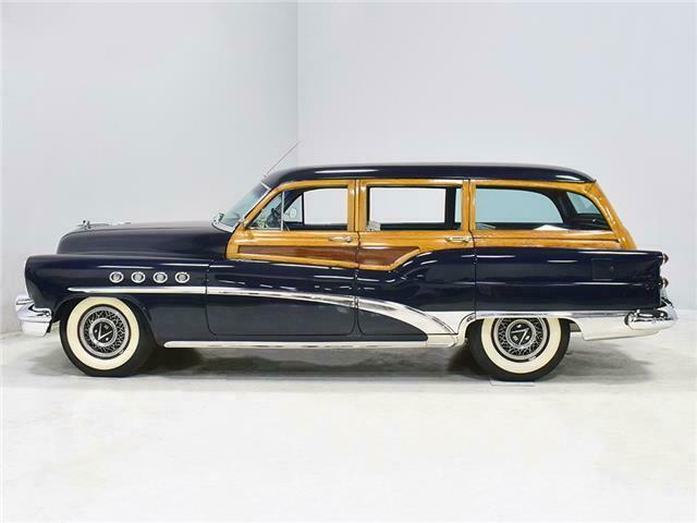1953 Buick Roadmaster Station wagon woody B53sw611