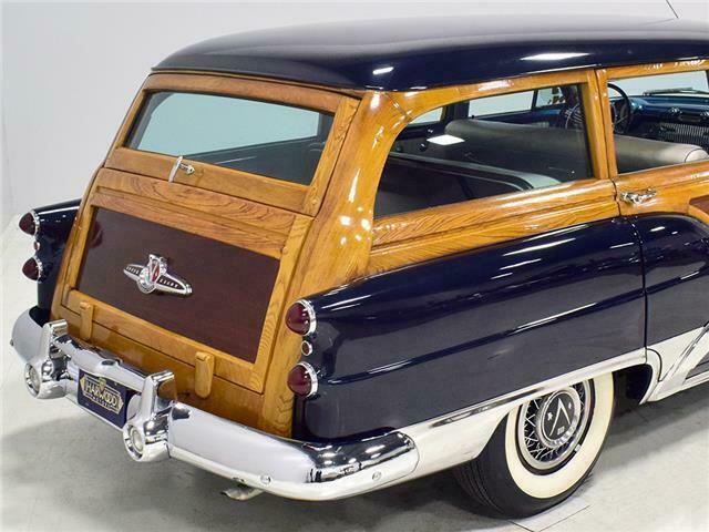 1953 Buick Roadmaster Station wagon woody B53sw814
