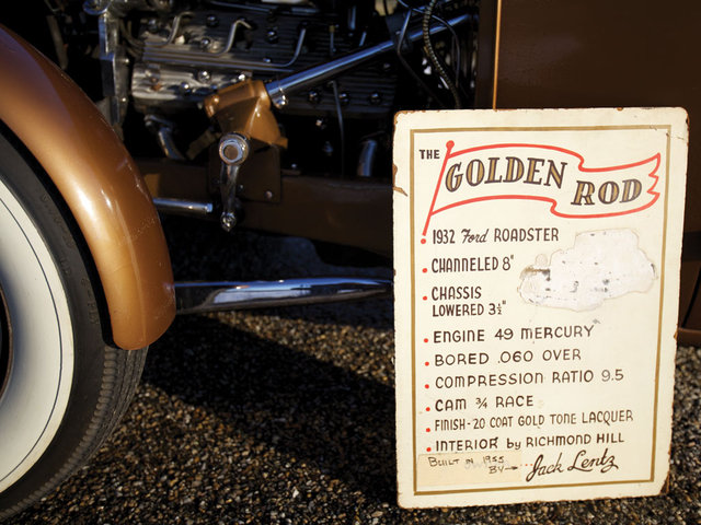 1932 Ford Roadster - The Golden Rod - Jack Fentz - built in 1955 Bige_210