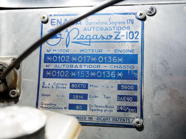 Pegaso Z-102 2,8 Cabriolet RH by Saoutchik. 1954 Bigg10