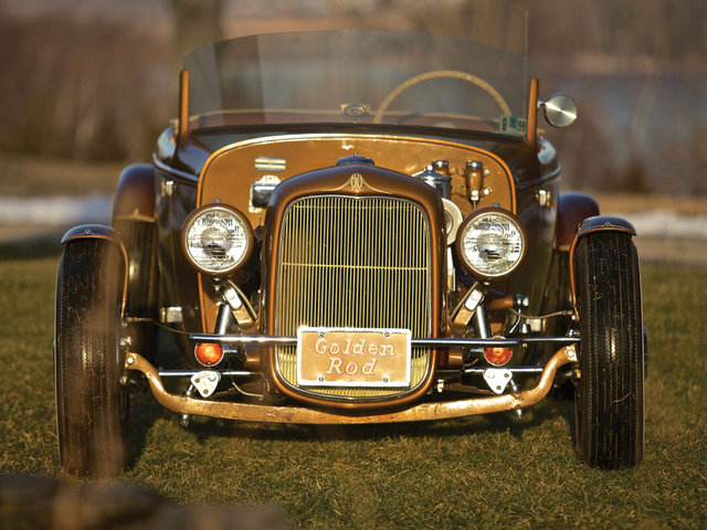 1932 Ford Roadster - The Golden Rod - Jack Fentz - built in 1955 Bigk210