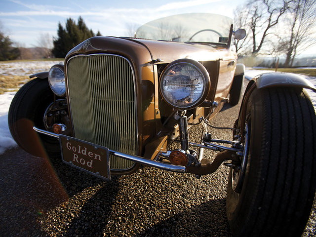 1932 Ford Roadster - The Golden Rod - Jack Fentz - built in 1955 Bigo210