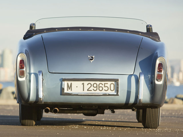 Pegaso Z-102 2,8 Cabriolet RH by Saoutchik. 1954 Bigr10