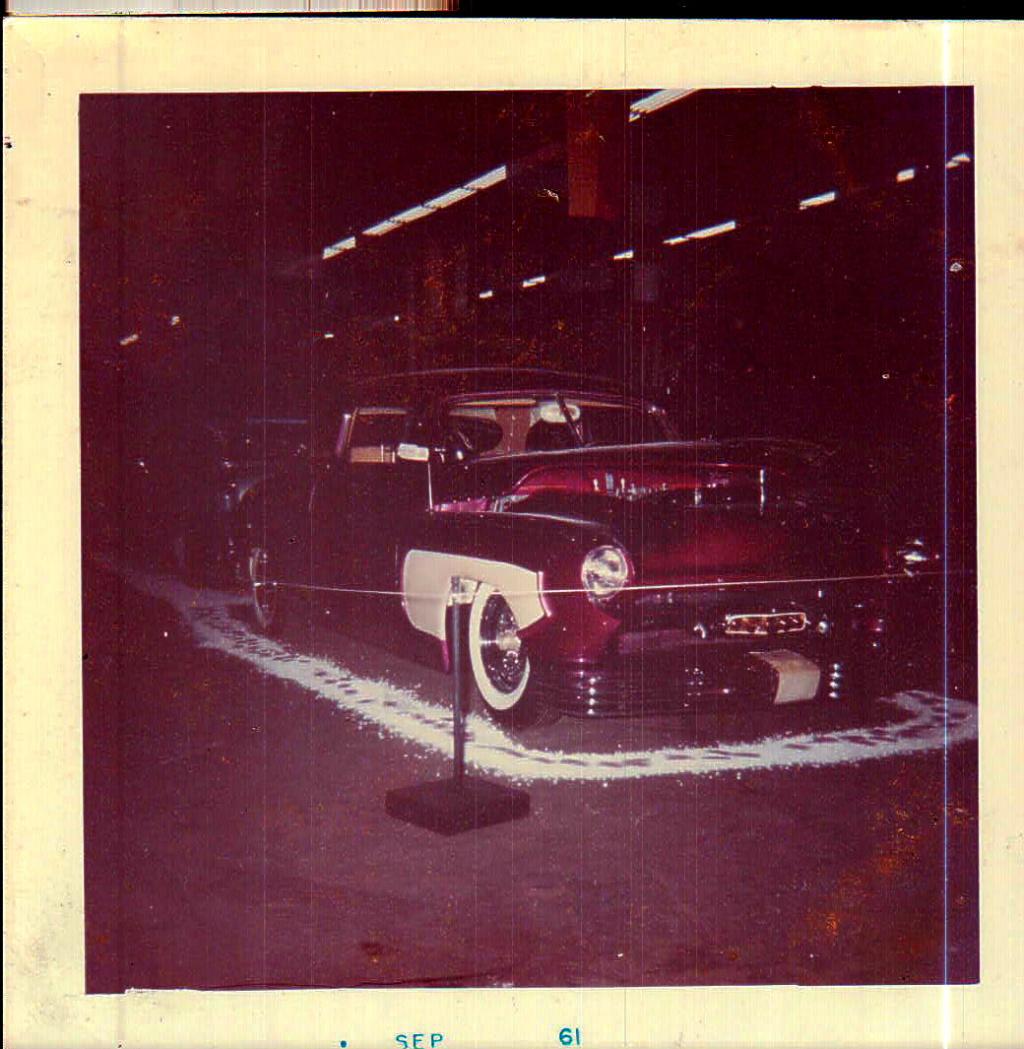 1950 Mercury - Blue Mirage - Sonny Morris built by Joe Bailon Billus10