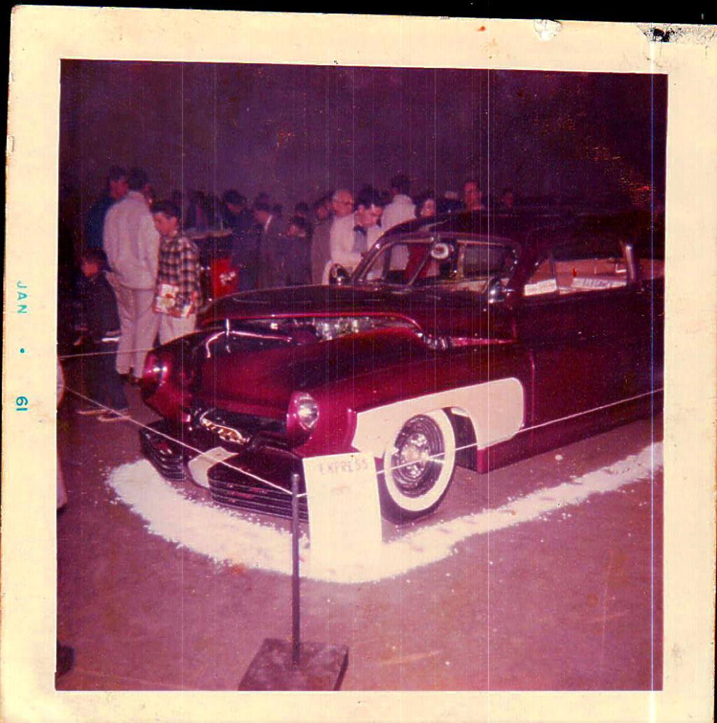 1950 Mercury - Blue Mirage - Sonny Morris built by Joe Bailon Billus11
