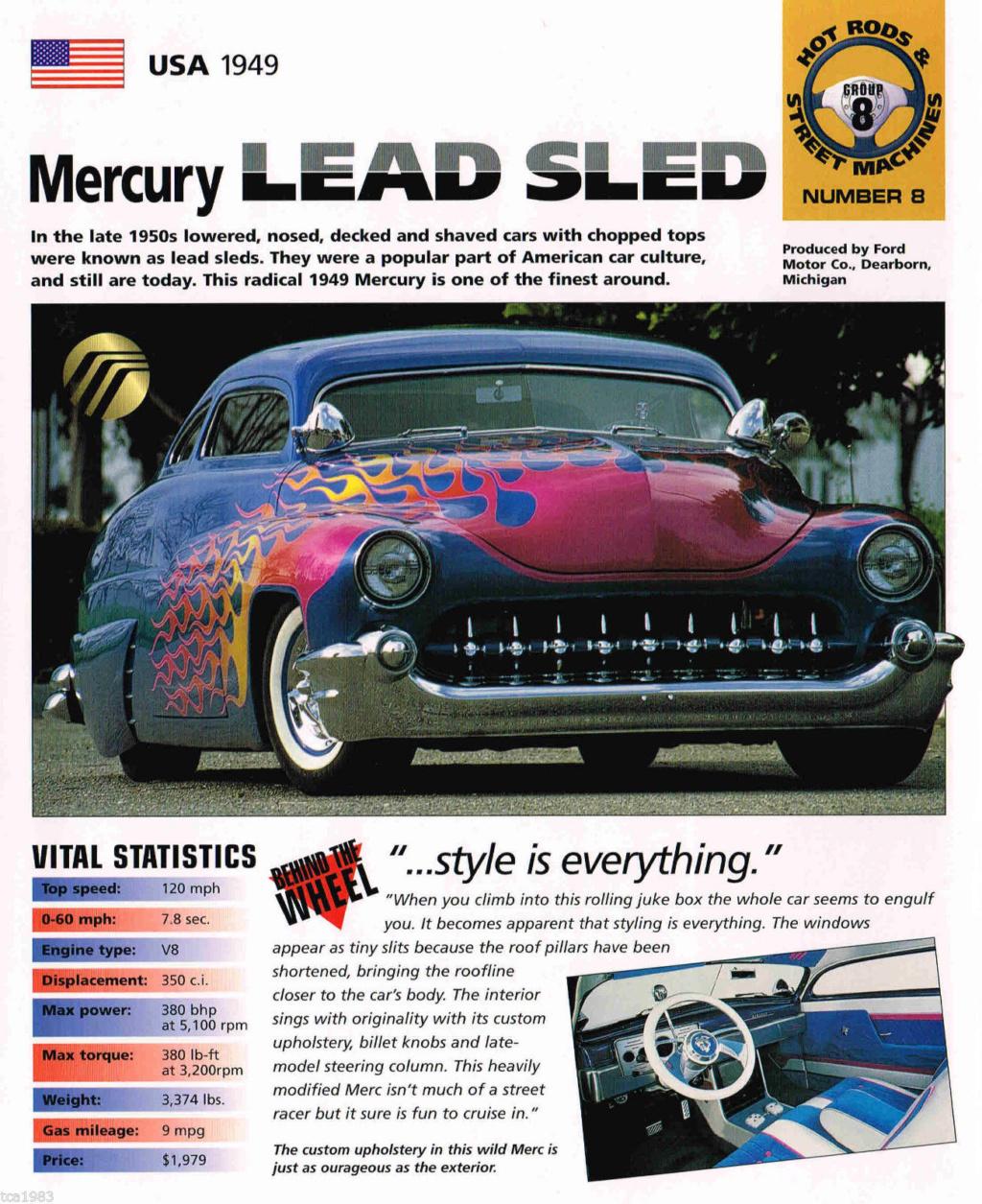 Lowrider/Lead Sled brochures - International Masters Publishers Broch410