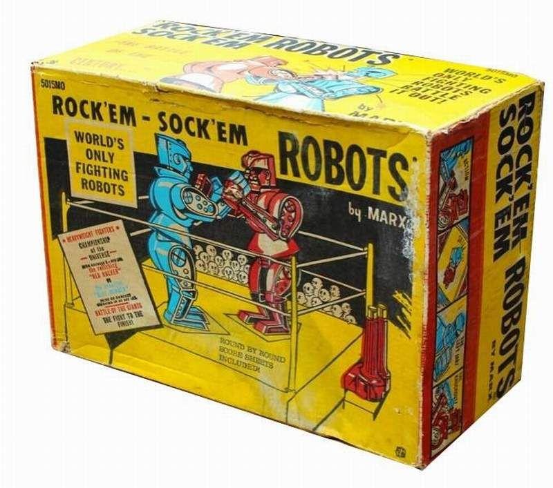 Rock 'Em Sock 'Em Robots from Marx (1966) C7c08410