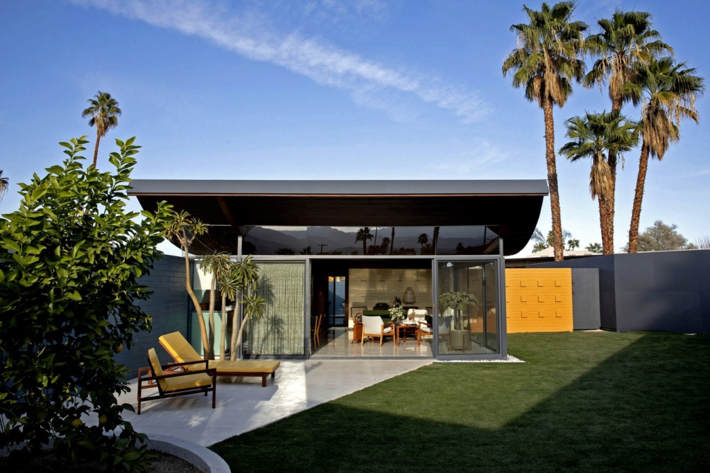 Wave house, Palm Spring. Walter S White 1955 Ca-tim11