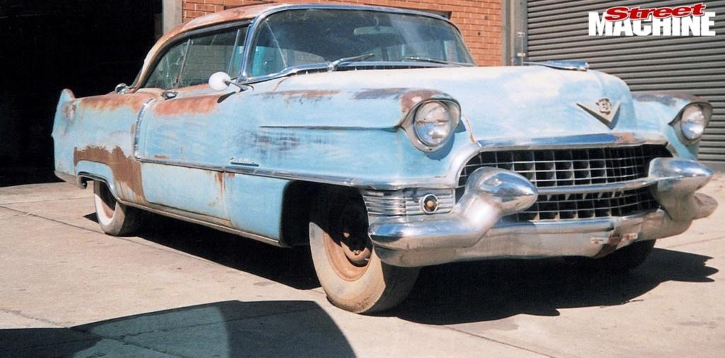 1955 Cadillac Coupe DeVille - KING CAD - Mario COLALILLO Caddy-10