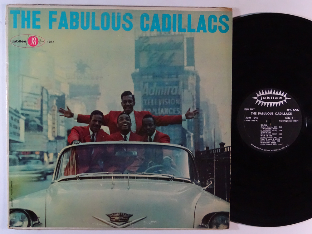Records with car or motorbike on the sleeve - Disques avec une moto ou une voiture sur la pochette - Page 3 Cadill10