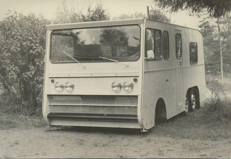 Camping-car 6 roues sur base Citroën ID Camper15