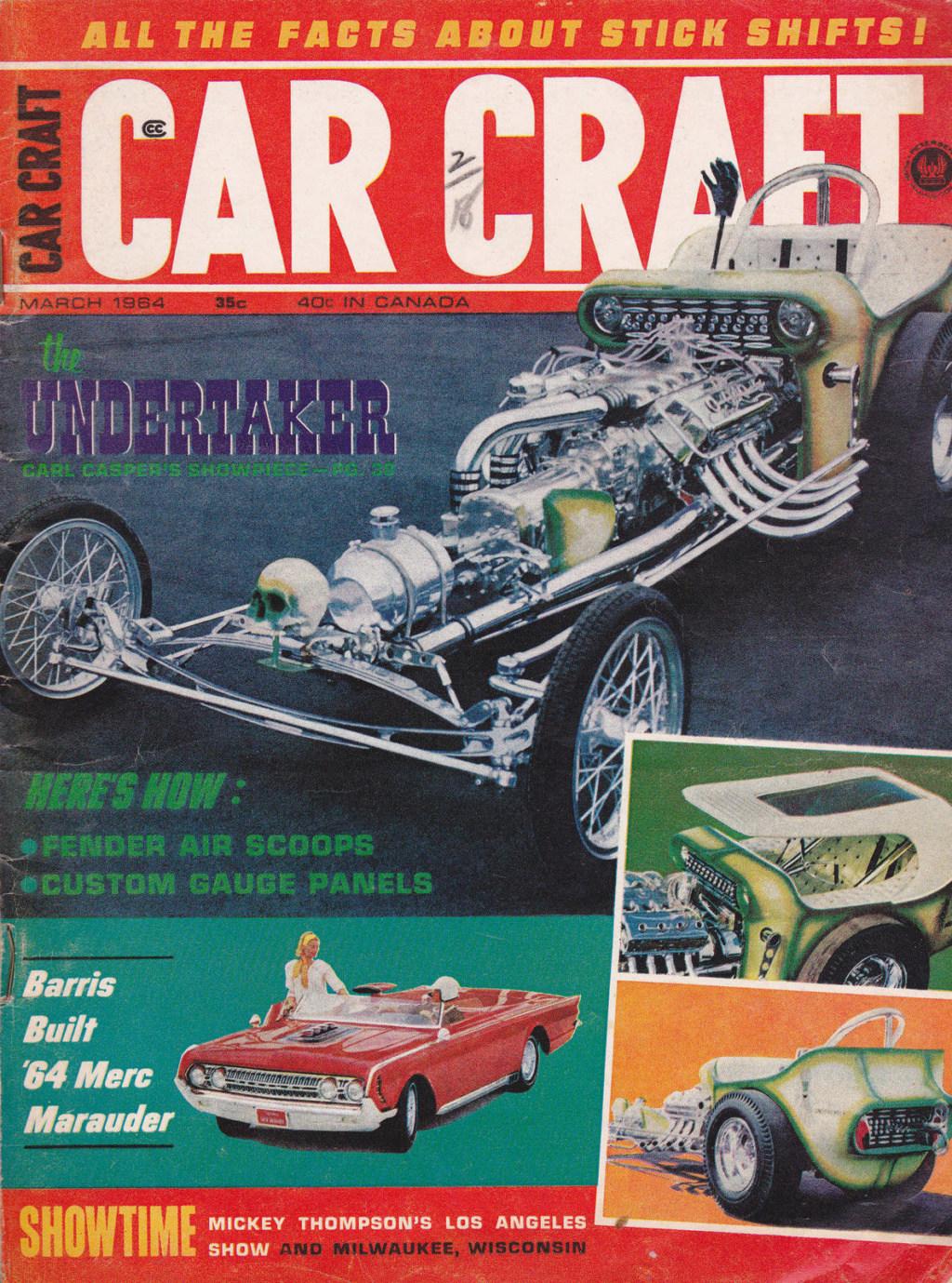 1964 Mercury Super Marauder  - George Barris Carcra12